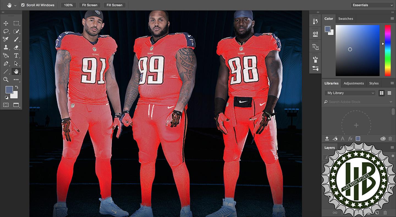 Wish list: 2018 Tennessee Titans uniform changes. – HasBeenSports